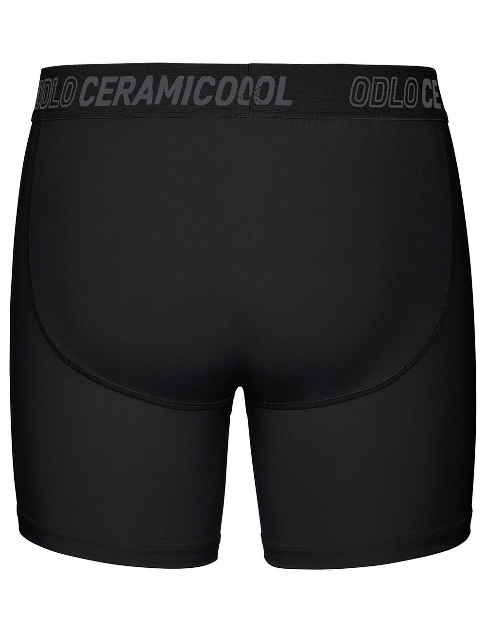 281cc66285ff4 ODLO Трусы-шорты мужские Ceramicool, артикул 360392, цвет черный, цена 1  490 руб., характеристики, фото   ODLO.ru