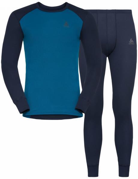 ODLO Комплект мужской: футболка с длинным рукавом + кальсоны ACTIVE WARM ECO Special Set