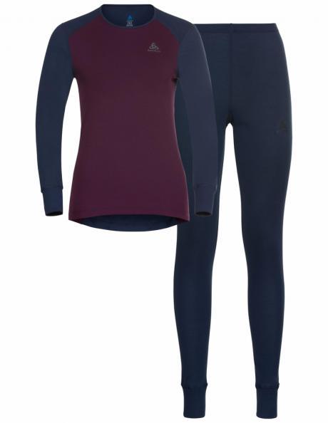 ODLO Комплект женский: футболка с длинным рукавом + рейтузы ACTIVE WARM ECO Special Set