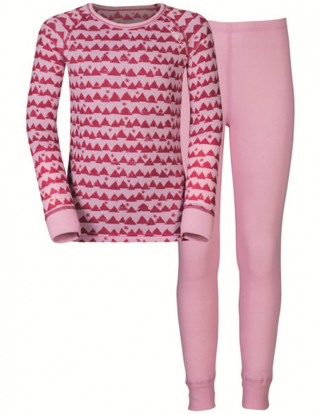 ODLO Комплект детский - футболка с длинным рукавом + рейтузы WARM KIDS
