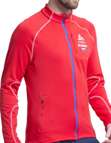 ODLO Джемпер мужской STRETCH FLEECE RUSSIA